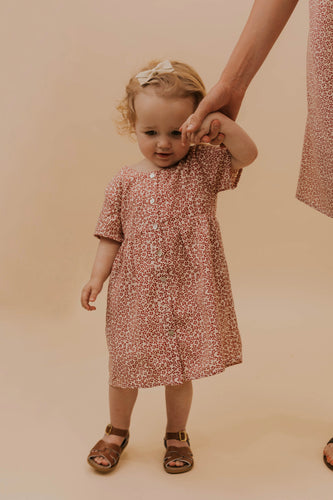 Little Girls Floral Dress | ROOLEE
