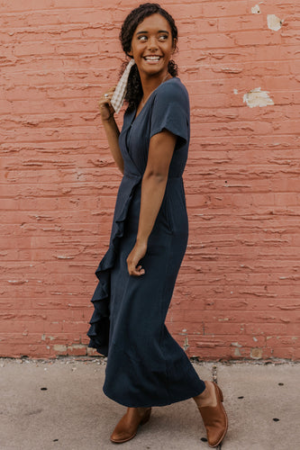 Wrap Maxi Dress | ROOLEE