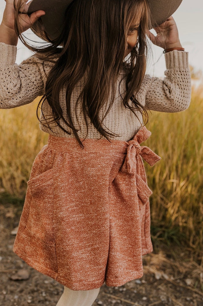 Girls Wrap Skirt | ROOLEE