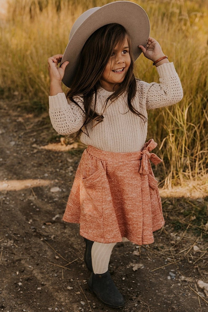 Rust Knit Skirt | ROOLEE