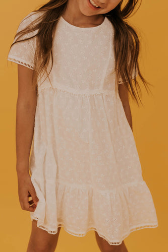 Eyelet Embroidered Dress | ROOLEE