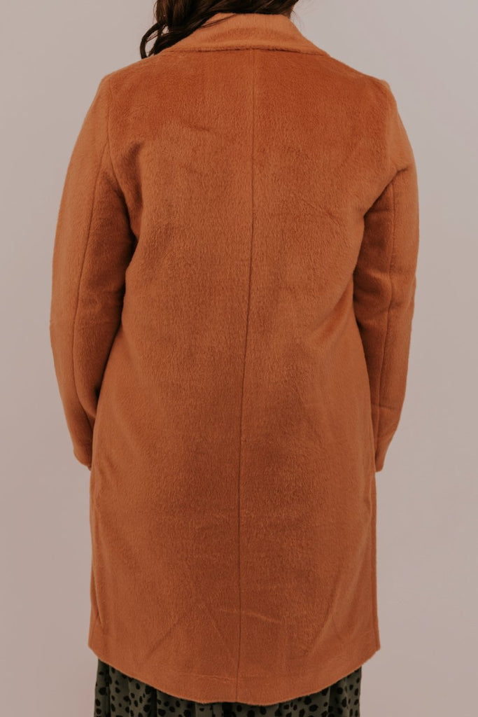 Long Formal Coral Coat | ROOLEE