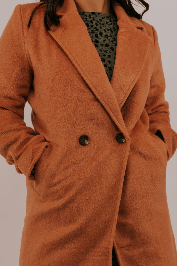 Statement Color PeaCoat | ROOLEE