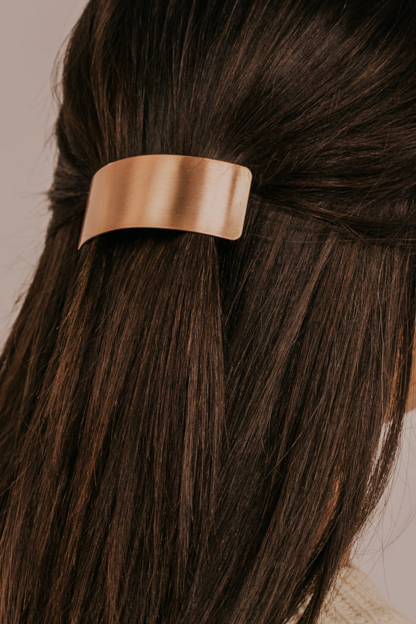 Rose Gold Clips for Hair | ROOLEE