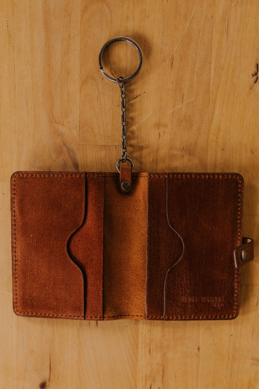 Tan Leather Wallet | ROOLEE