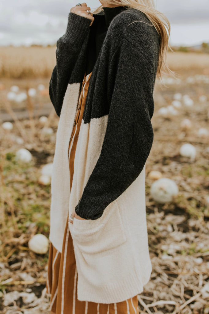 On My Way Colorblock Cardigan | ROOLEE