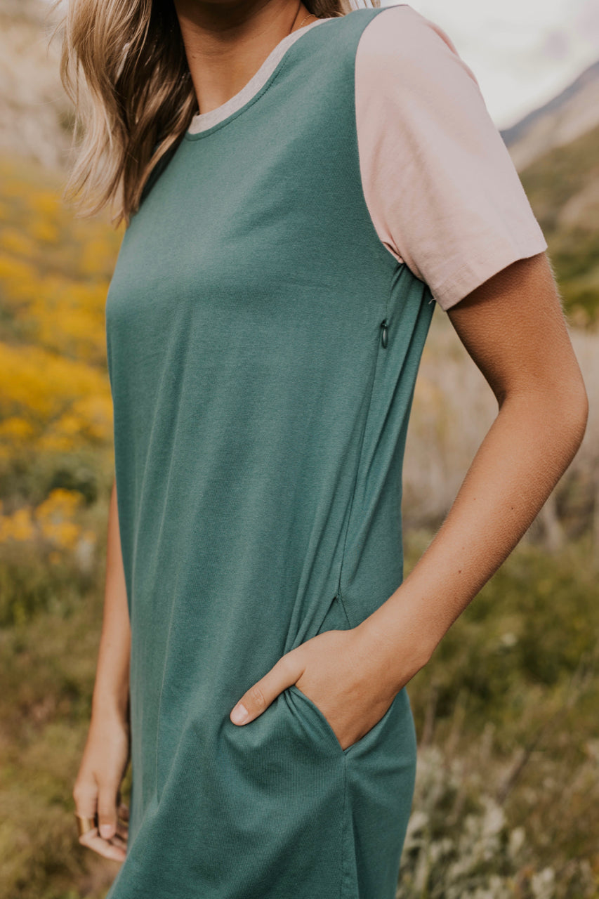 Summer Nursing Friendly Dress | ROOLEE