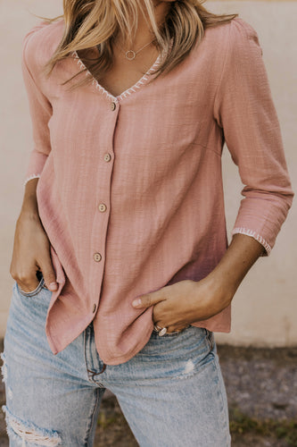 Blush Blouse | ROOLEE