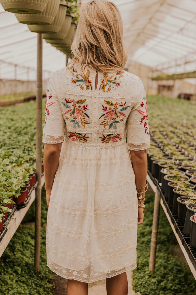 Cute Embroidered Dresses | ROOLEE
