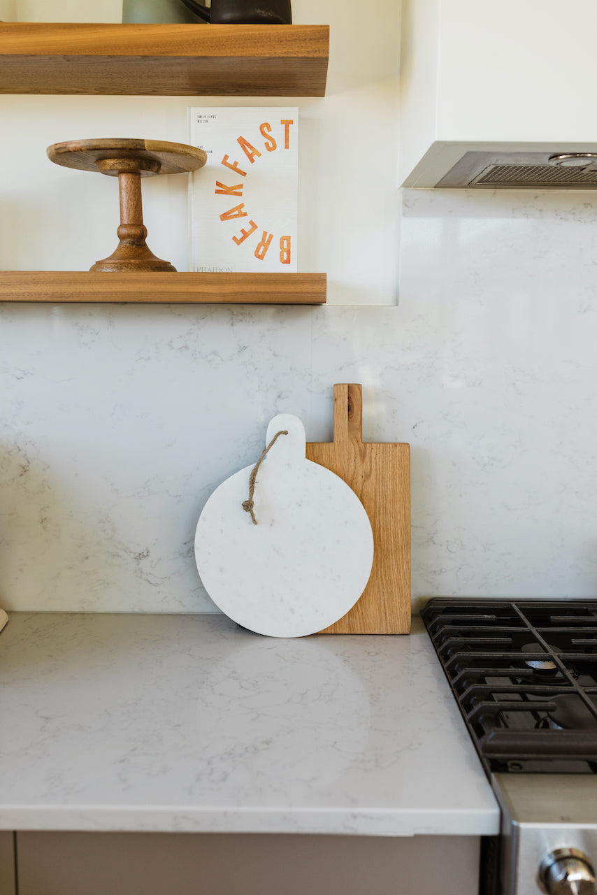 White marble cutting board | ROOLEE