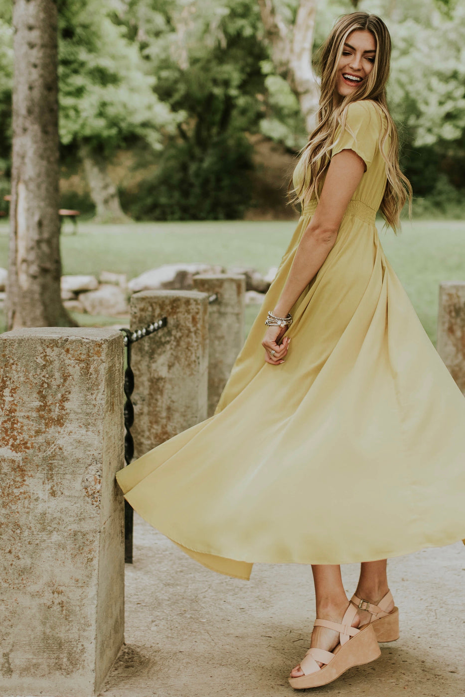 Flowing Summer Maxi | ROOLEE