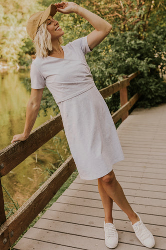 Mom Wrap Dress | ROOLEE