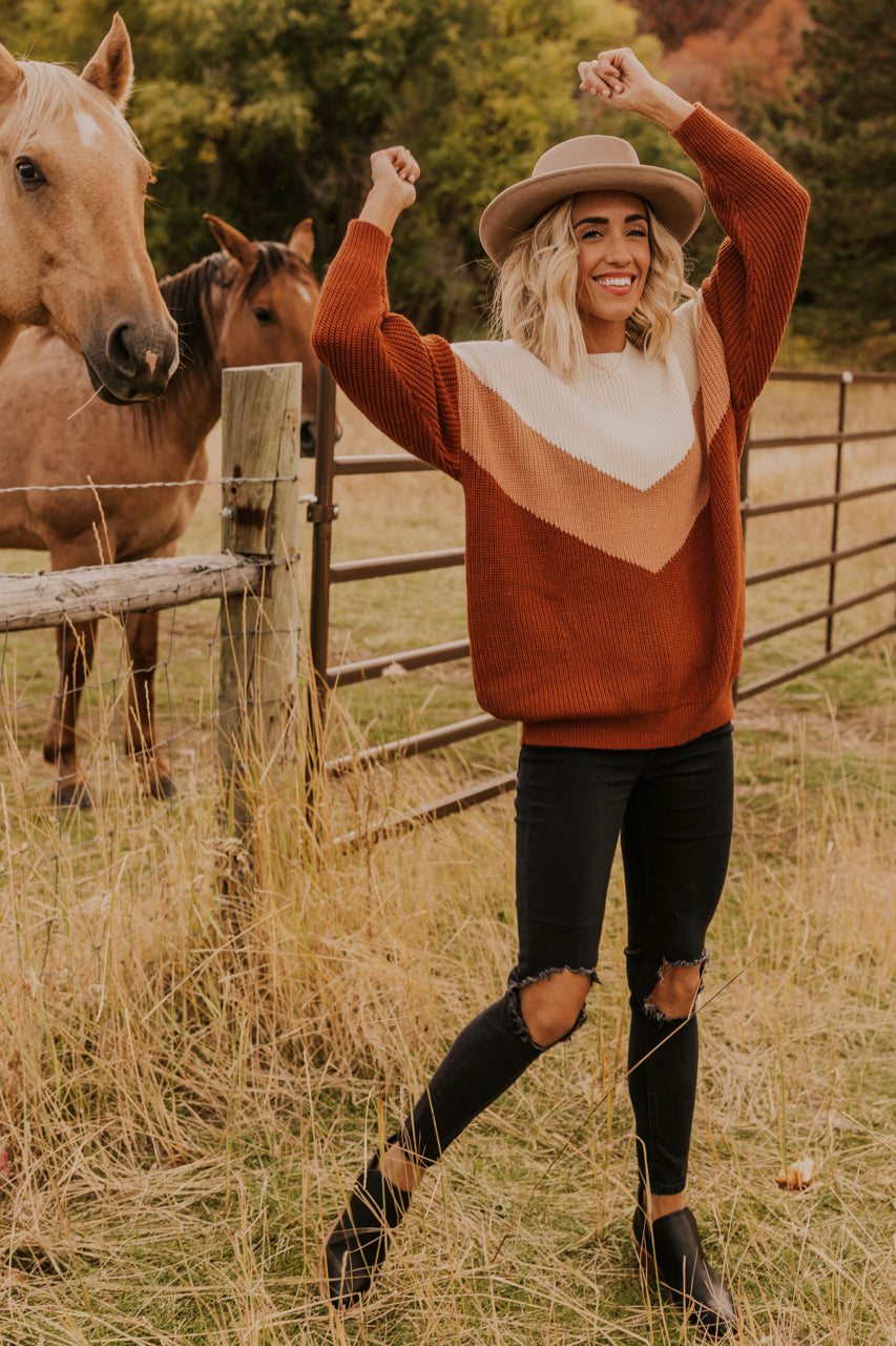 Fall Sweater Outfit Inspiration | ROOLEE
