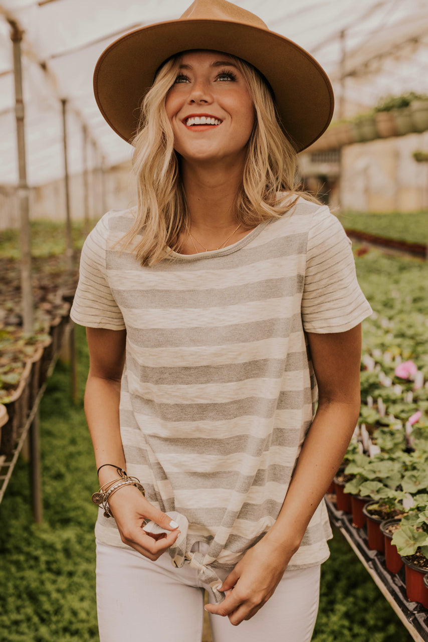 Cute Tie Tops for Women | ROOLEE