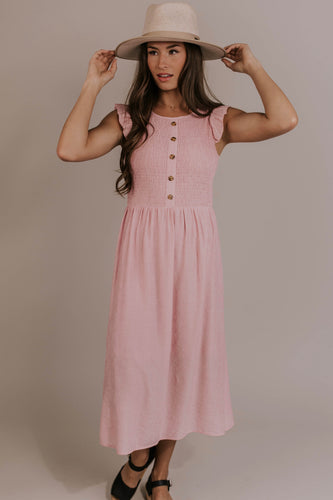 Pink Dress Outfit | ROOLEE