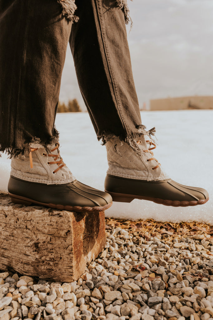 Lace Up Winter Boots | ROOLEE