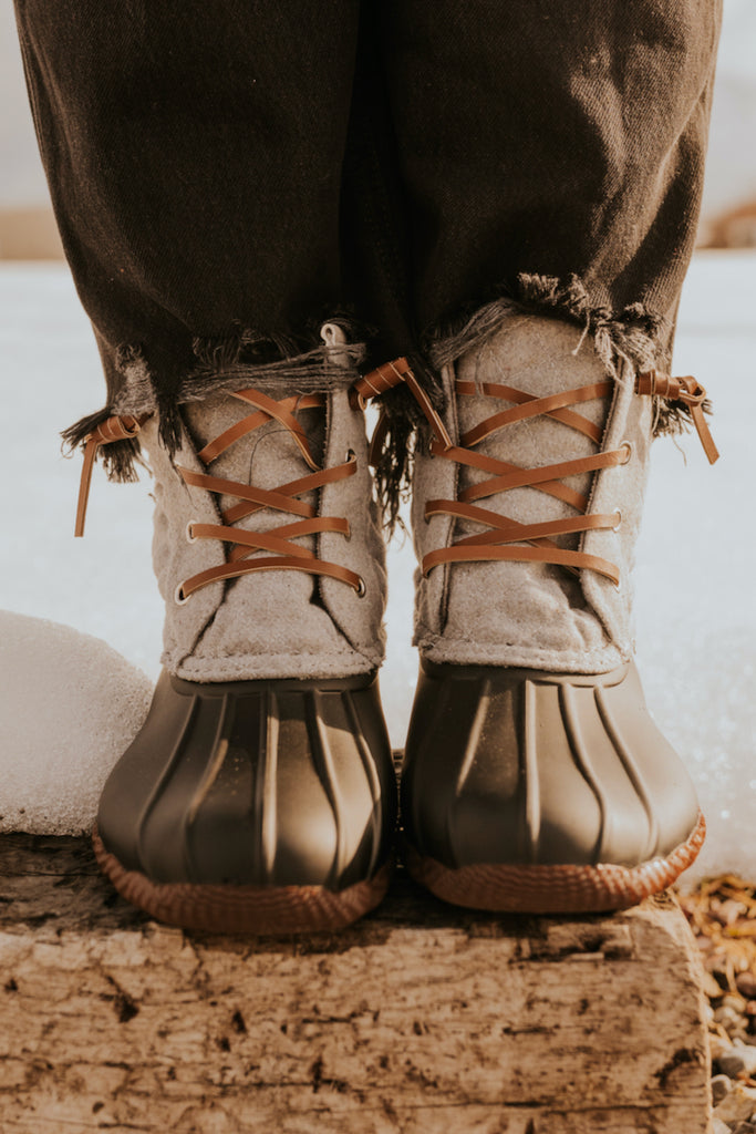 Leo Lace Up Boots