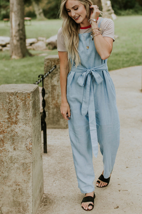 Juniper Denim Jumpsuit | ROOLEE