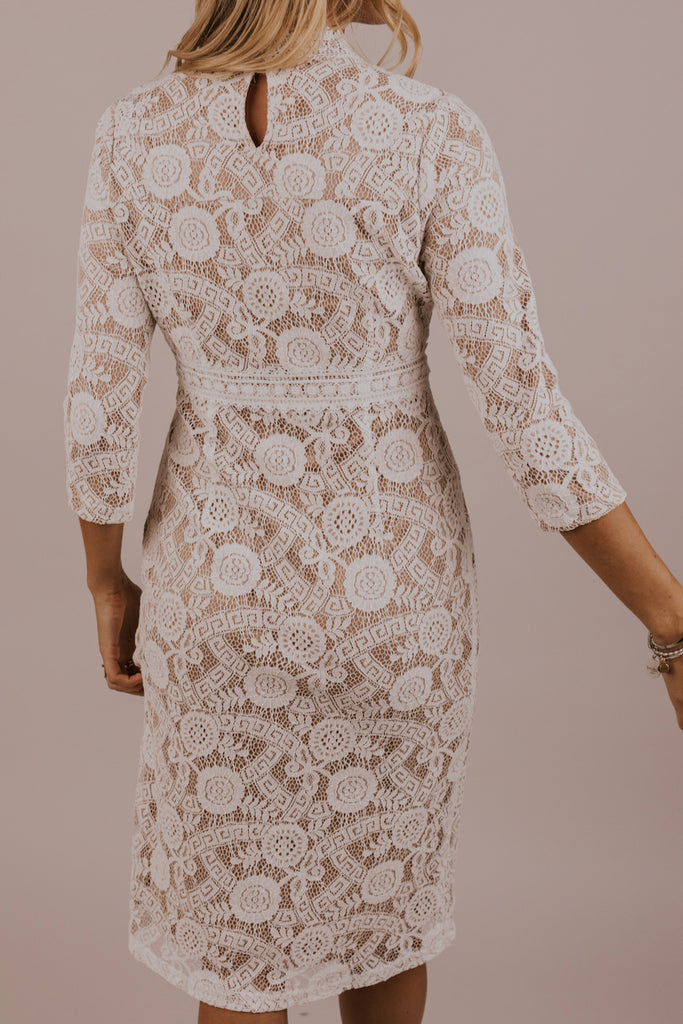 Fancy Lace Dress | ROOLEE