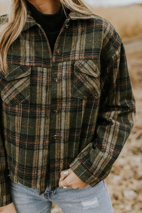 Plaid Jacket for Fall | ROOLEE