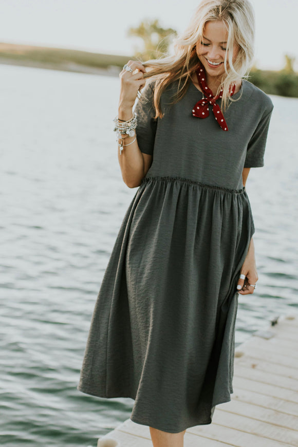 Jaclyn Mae Detail Dress | ROOLEE