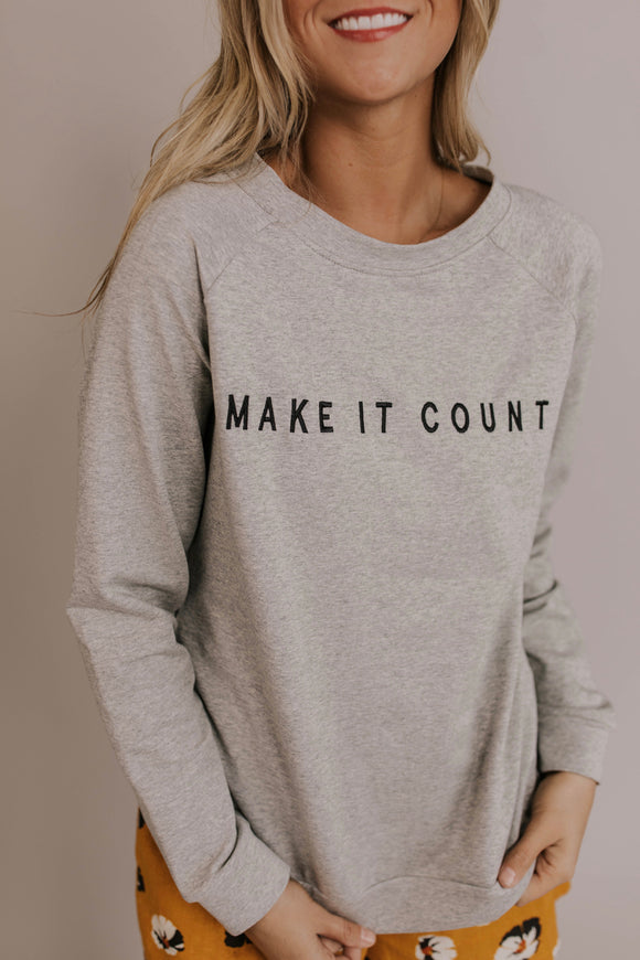 Make It Count Graphic | ROOLEE