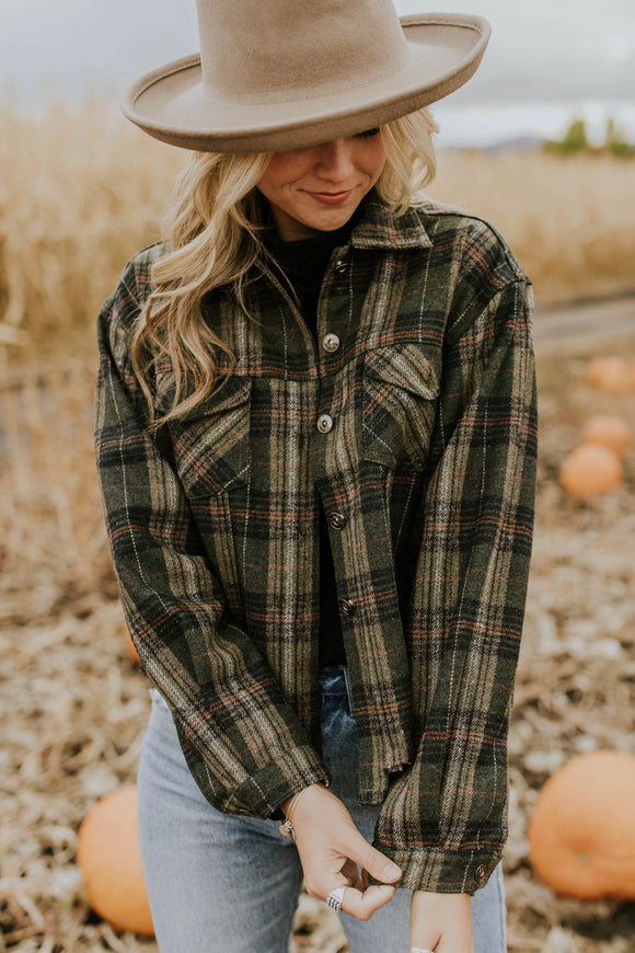 Damion Plaid Jacket | ROOLEE
