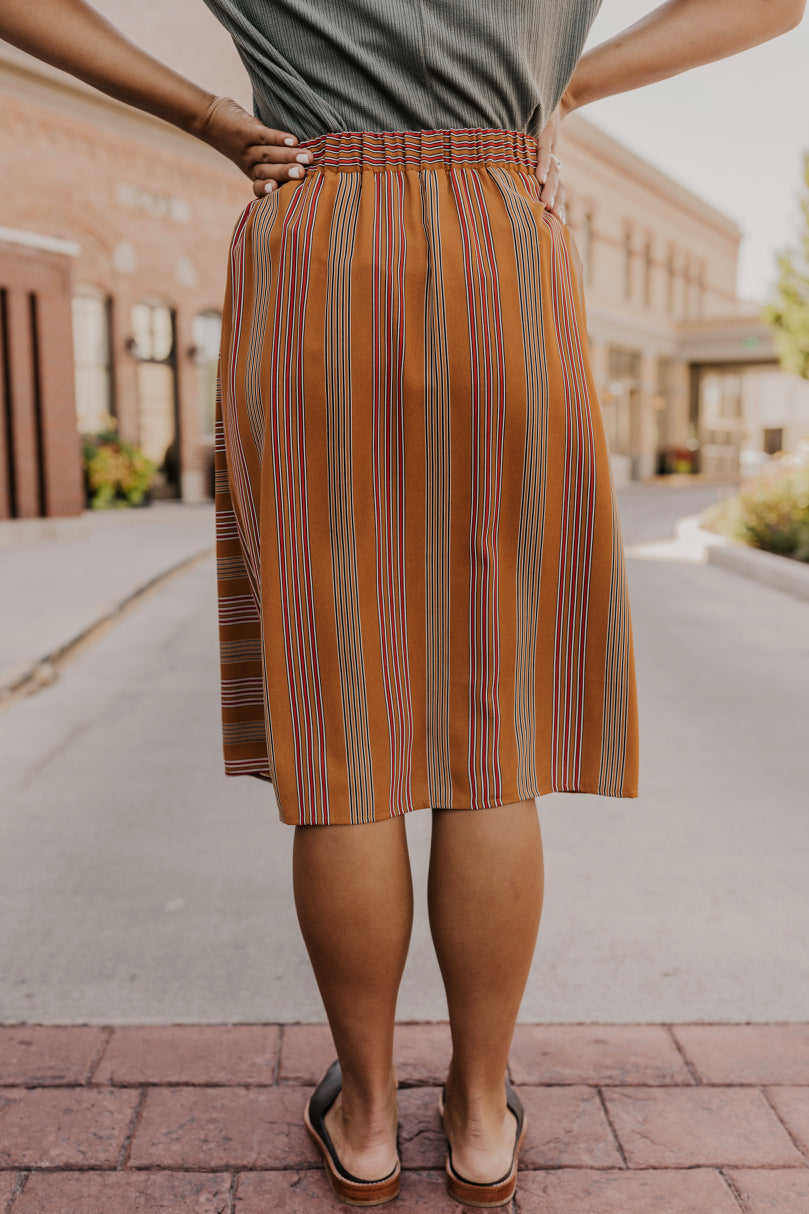 Midi Button Skirt | ROOLEE