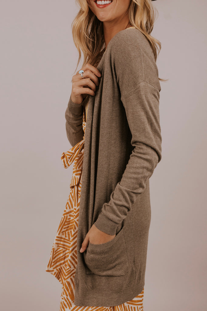 Long Pocket Cardigan | ROOLEE
