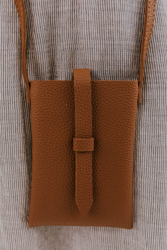 Rockwell Mini Crossbody in Brown | ROOLEE