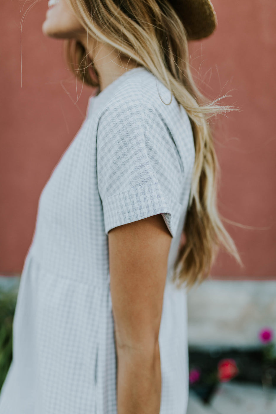 Short Sleeve Nursing Friendly Dress | ROOLEE