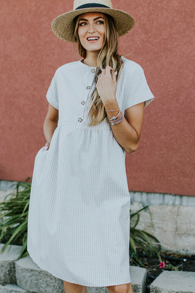 Petersboro Button Dress | ROOLEE