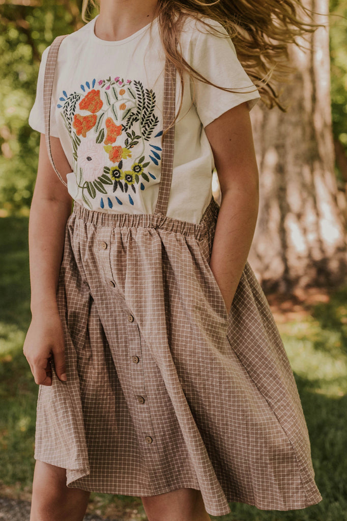 Mom and Me Embroidered Shirt | ROOLEE