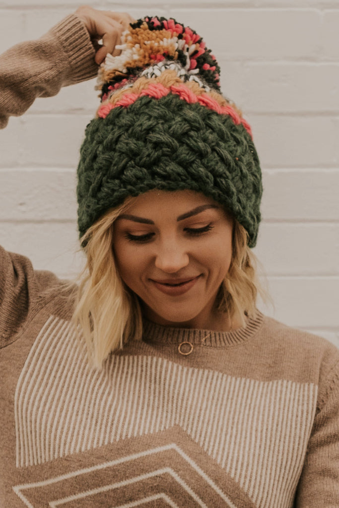 Colorful Holiday Beanie | ROOLEE