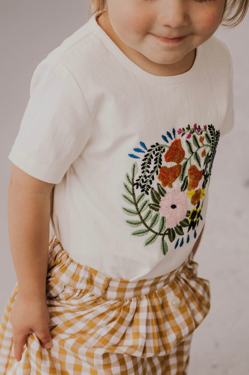 Floral Girl's Shirt | ROOLEE