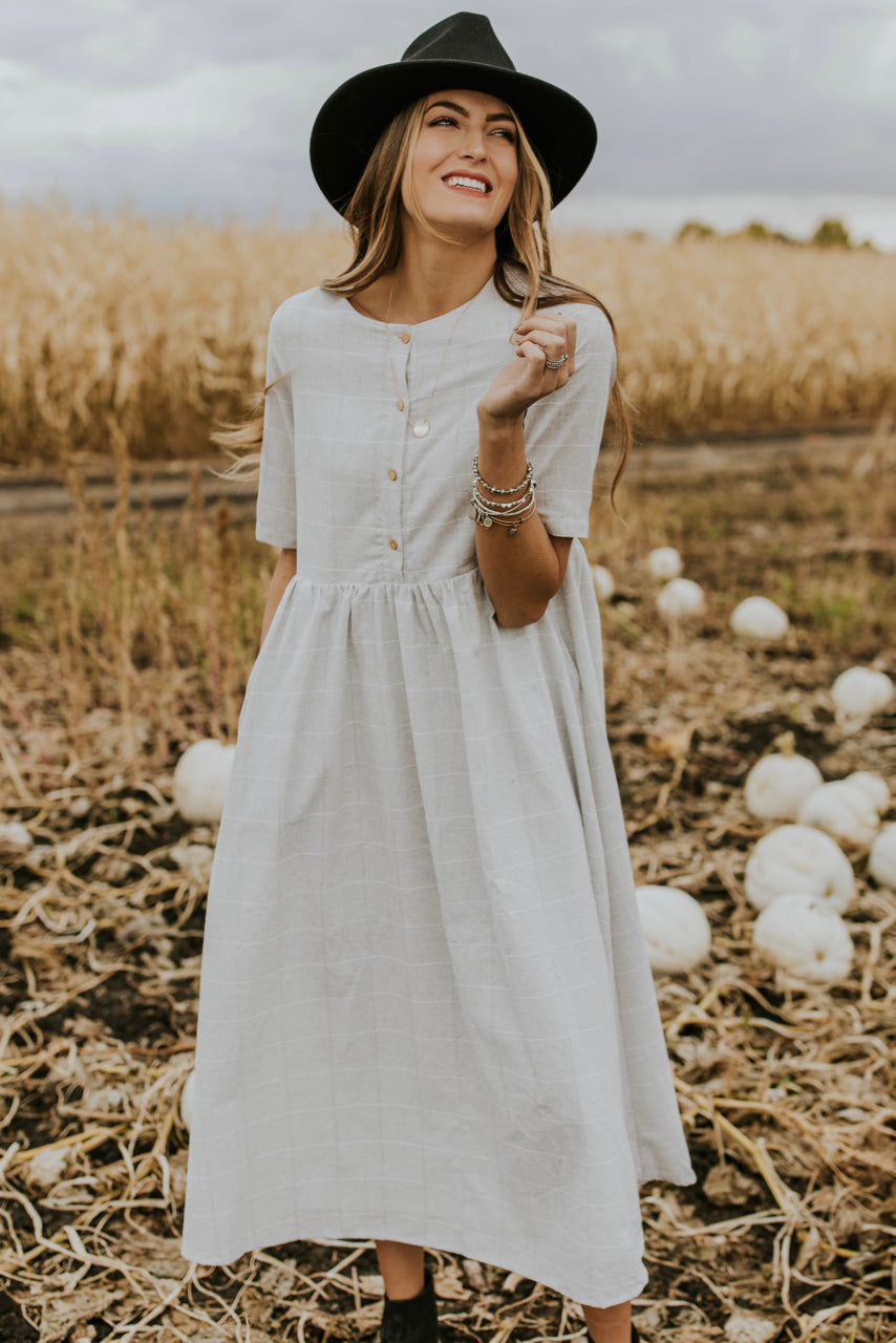 Autumn Dress Ideas Outfit | ROOLEE