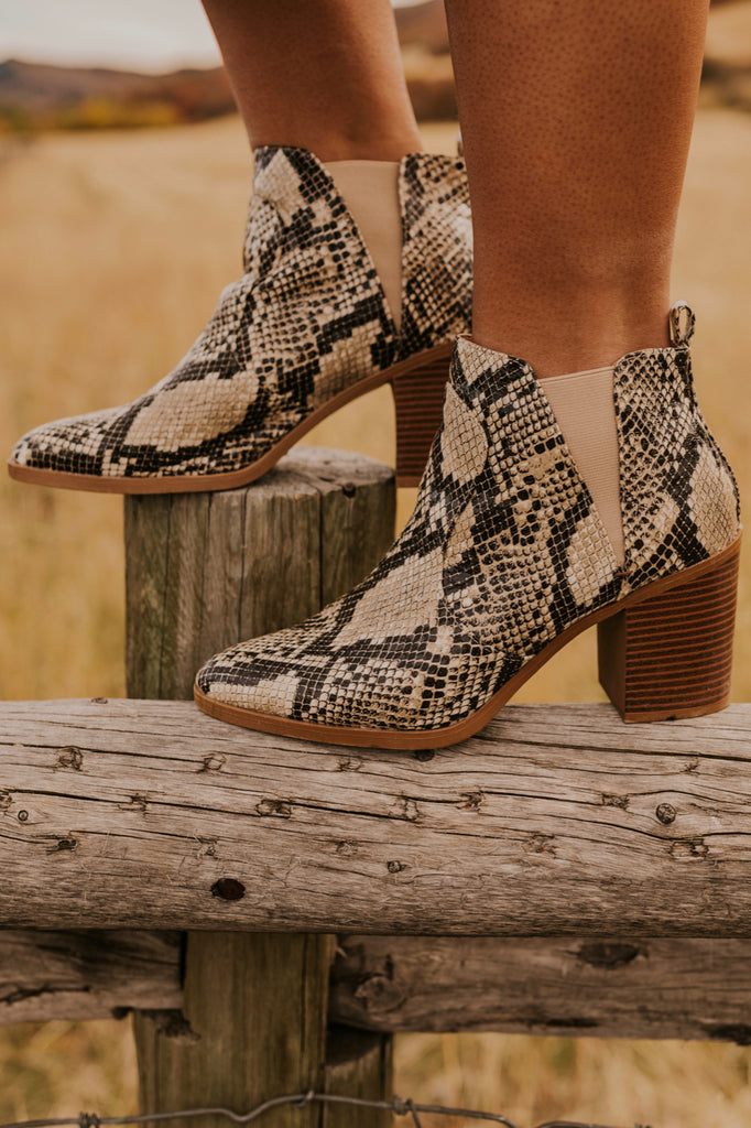 Snake Boot for Women | ROOLEE