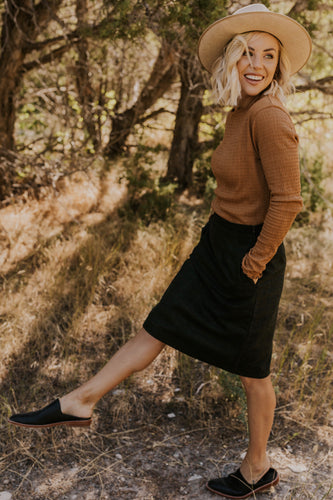 Green Plaid Skirt | ROOLEE