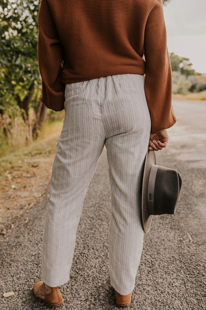 Grey Trouser Pants | ROOLEE