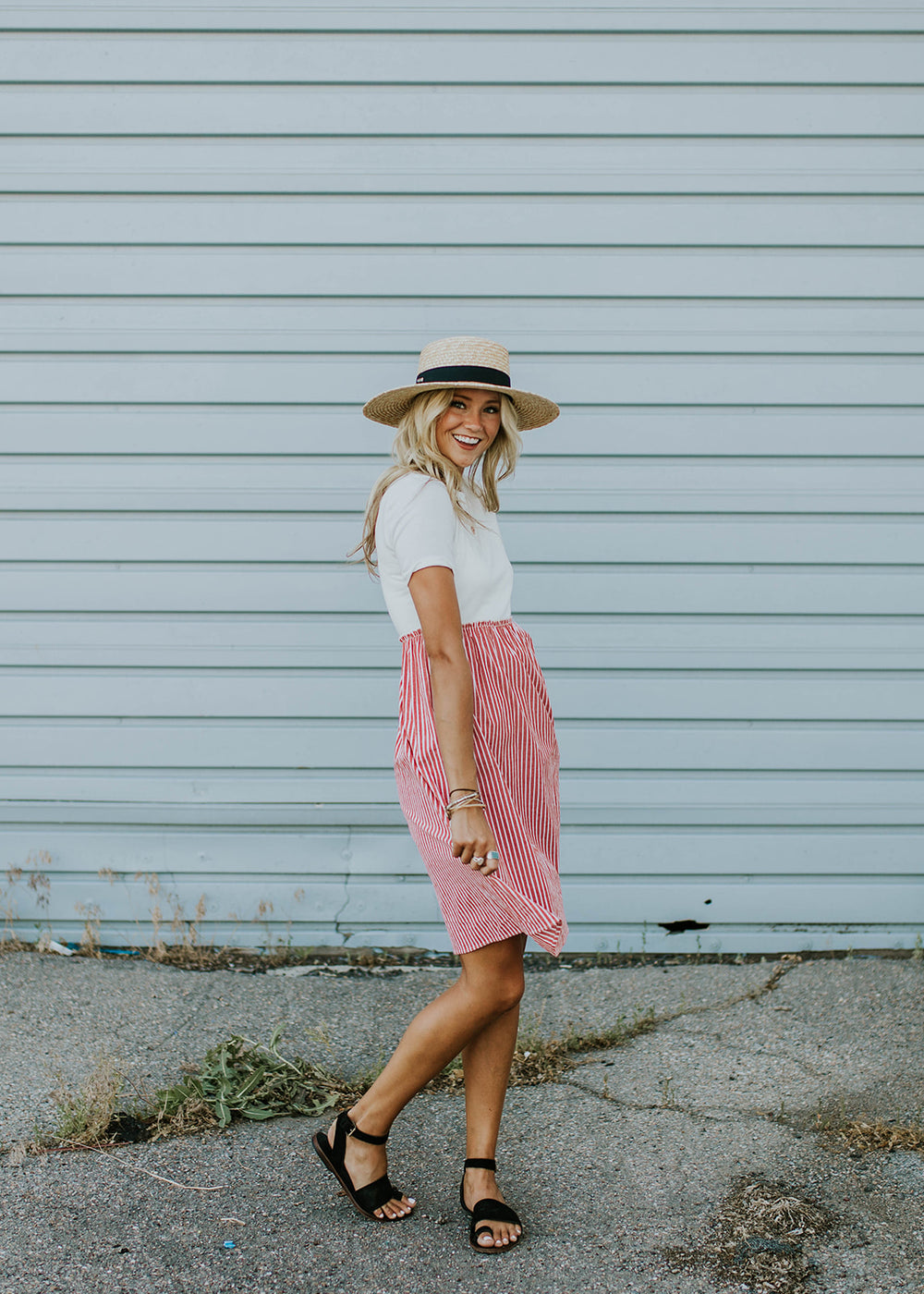 Color Block Skirt Dress | ROOLEE