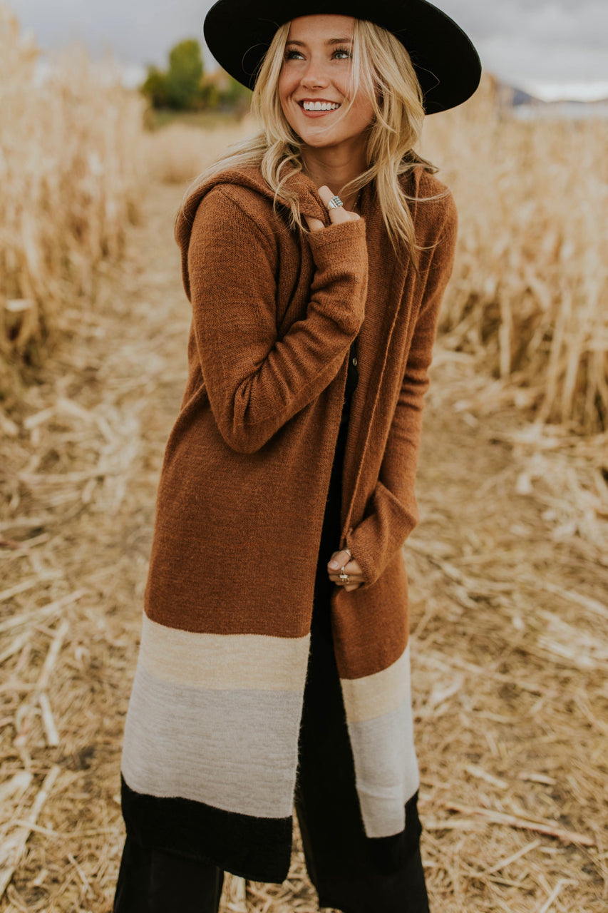 Hooded Cardigan for Fall | ROOLEE