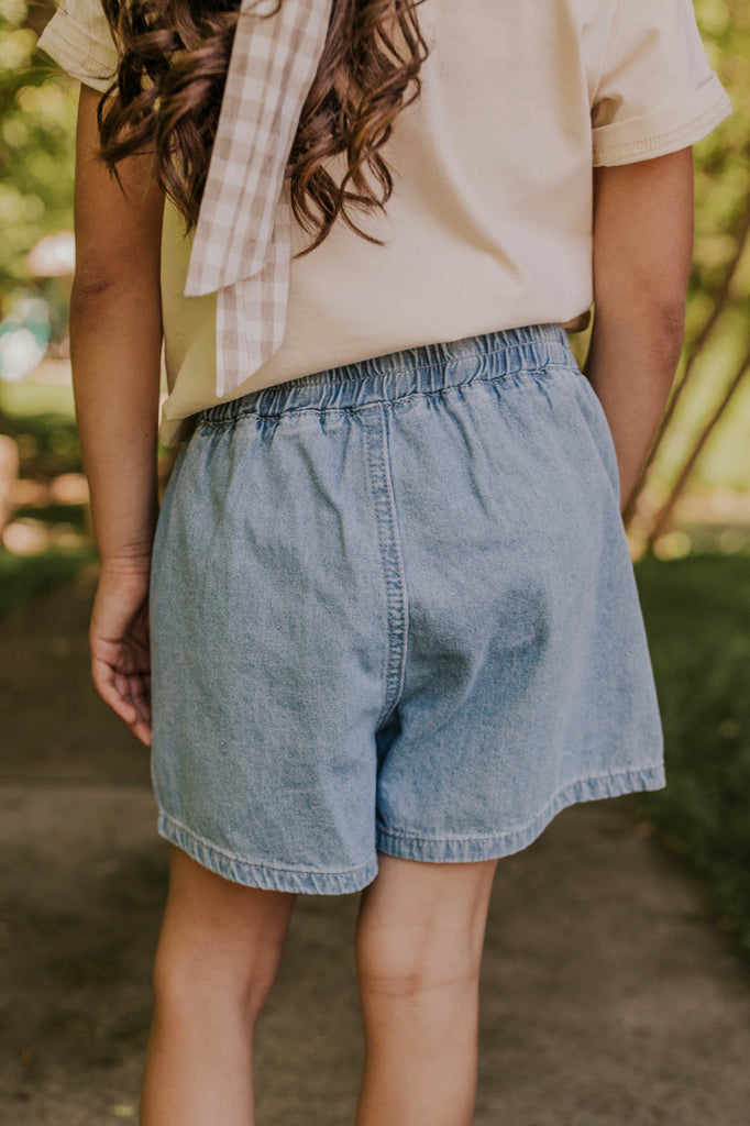 Best Denim Girl's Shorts | ROOLEE