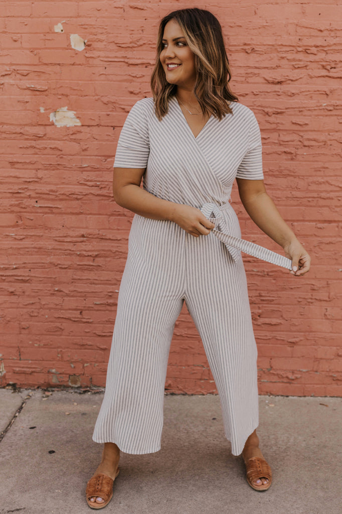 Striped Jumpsuit Women's Summer Clothes | ROOLEE