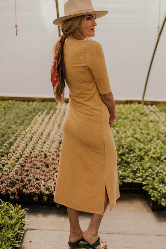 Mustard Bridesmaid Dresses | ROOLEE