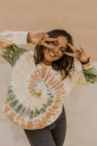 Long Sleeve Tie Dye Shirt | ROOLEE