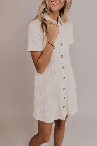 Short Sleeve Detail Dress | ROOLEE