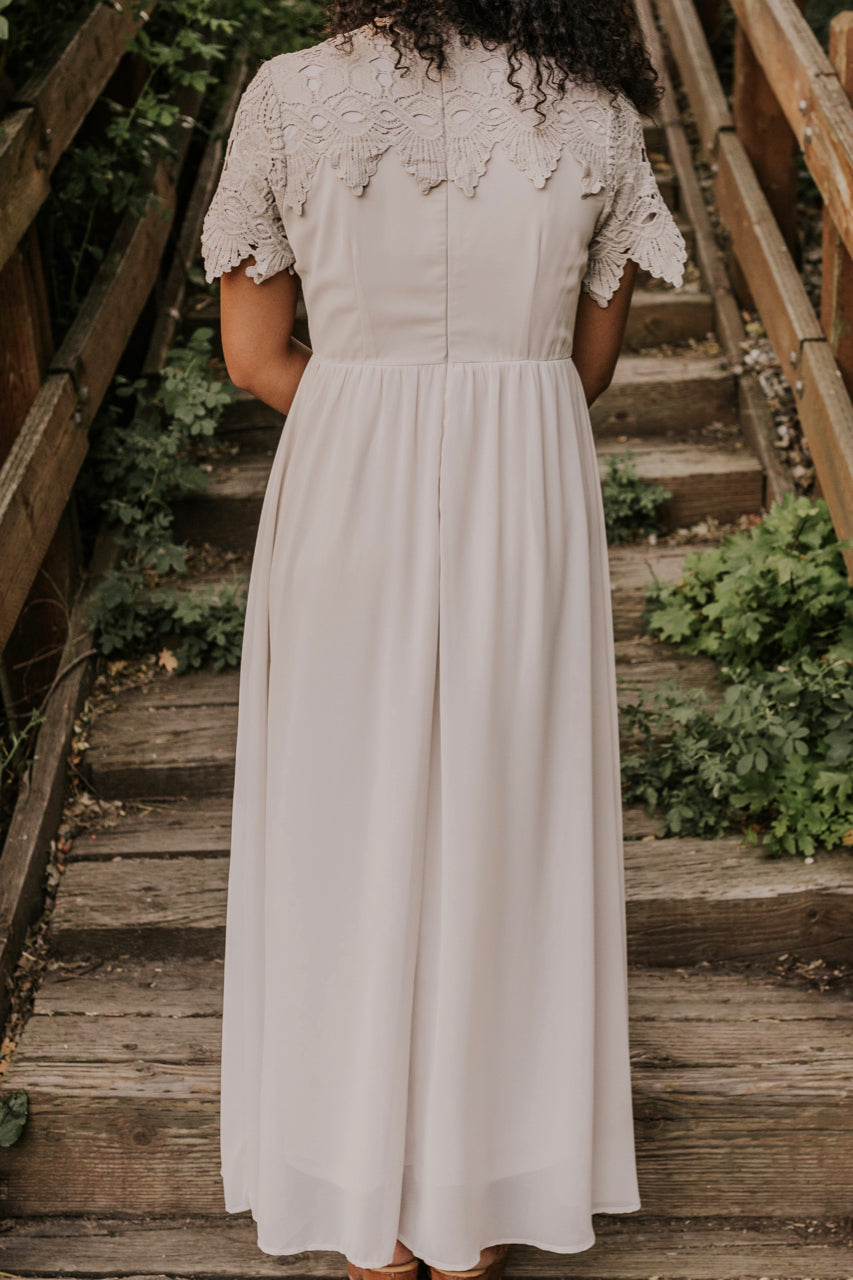 Silver Bridesmaid Dress | ROOLEE