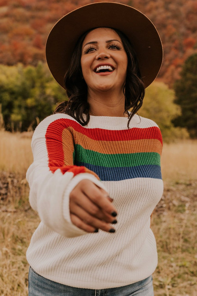 Rainbow Sweater | ROOLEE