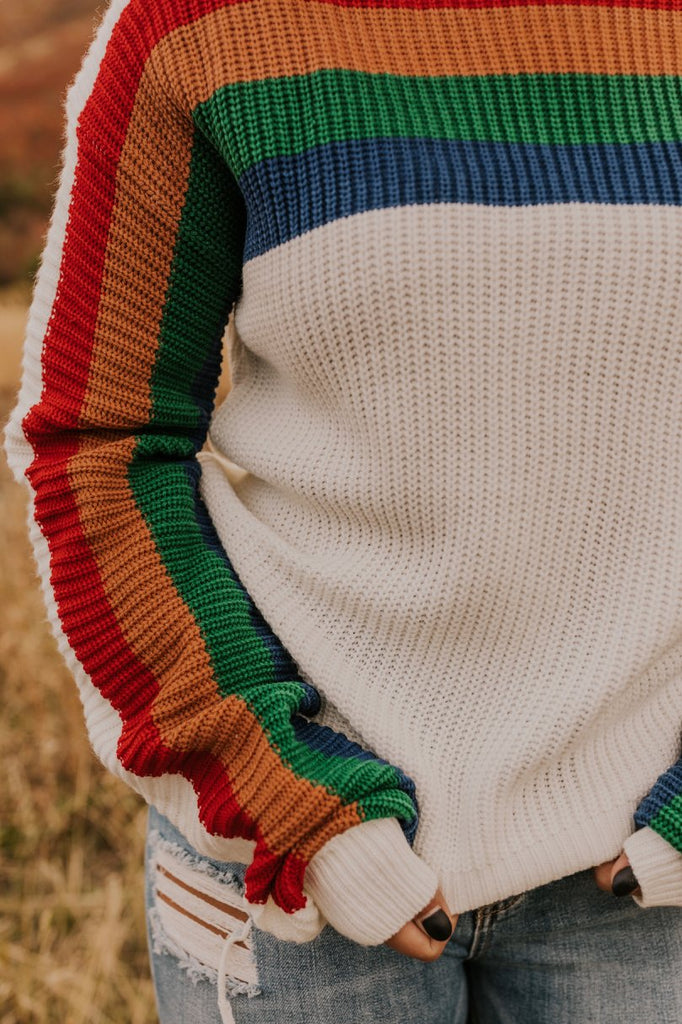 Multi Color Sweater | ROOLEE