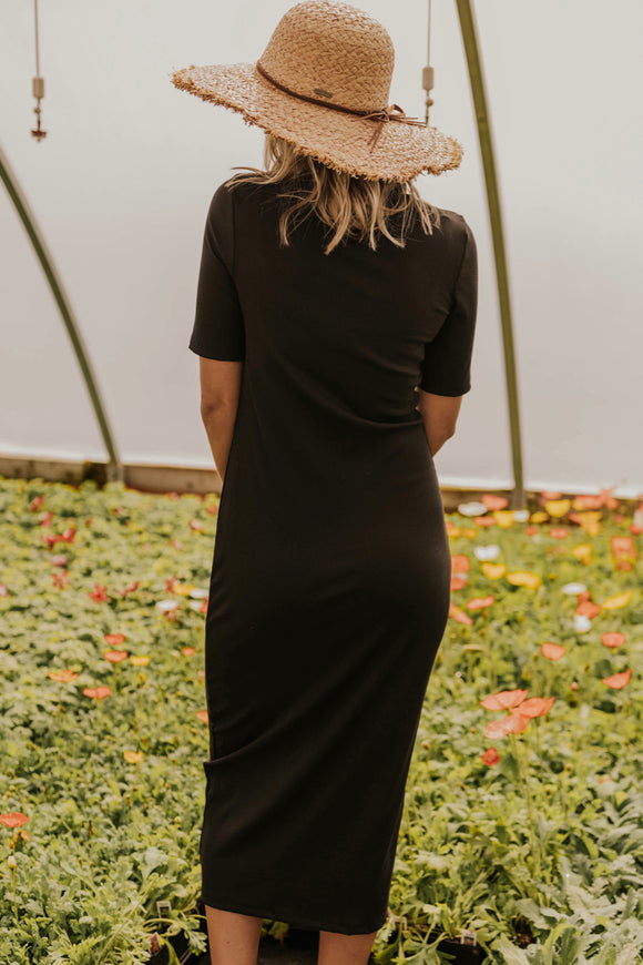 Black Bridesmaid Dress | ROOLEE